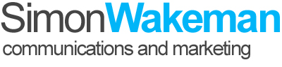 Simon Wakeman – communications, public relations and marketing logo